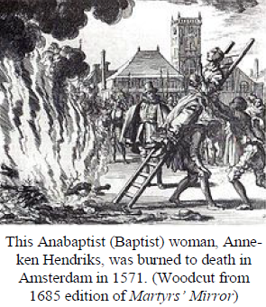 Anabaptist Woman