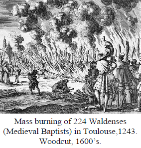 Waldenses burning